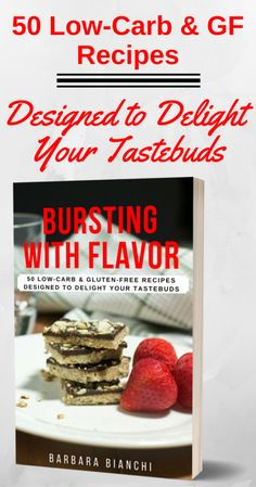 50 recipes designed to delight your tastebuds! | Healthy Low-Carb & Gluten-Free recipes | digital cookbook | Easy to follow recipes no matter your cooking expertise | Includes printable weekly meal planner & recipe cards of each recipe