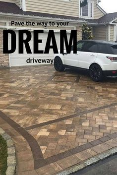 Pave the way to your dream driveway. Jesco Brick & Concrete Masonry updated this Long Island driveway with Cambridge Pavingstones with ArmorTec.