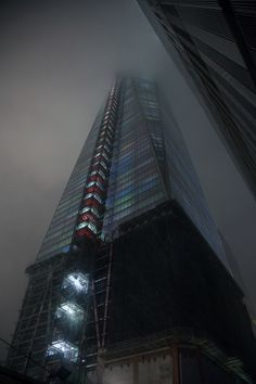 Photo by nchow556   One World Trade Center     Freedom Tower / fog
