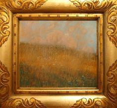 FERDINAND ENGELMÜLLER (1867 - 1924) Summer evening, 1906, pastel on boars