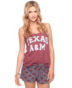 Texas A pajamas