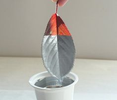 Party Decor DIY: Lovely Dipped Leaves — Valley & Co. Lifestyle