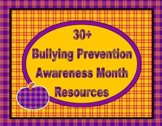 Bullying Prevention Resources ~ Free.