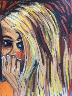 eBay now listing! Bids start 1 penny! 9x12 original pastel painting by Tim Bruneau! Artist Portrait Soft Pastels Original Tim Bruneau Impressionism 2000-Now #Impressionism