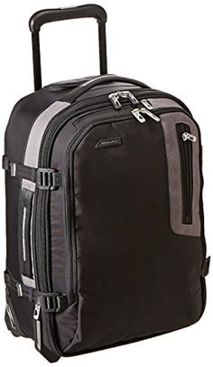 Briggs Riley Explore Commuter Expandable Upright Black One Size    Learn  more by visiting the image link. ed9c1cdbb5