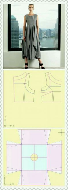 Amazing Sewing Patterns Clone Your Clothes Ideas. Enchanting Sewing Patterns Clone Your Clothes Ideas. Sewing Dress, Dress Sewing Patterns, Sewing Clothes, Clothing Patterns, Sewing Diy, Easy Sew Dress, Diy Dress, Diy Kleidung, Diy Clothing