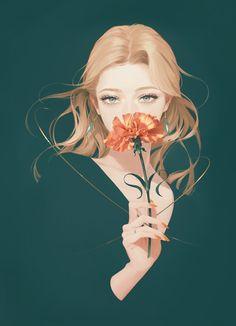 Digital Art Anime, Digital Art Girl, Girl Cartoon, Cartoon Art, Pretty Art, Cute Art, Character Illustration, Illustration Art, Photographie Portrait Inspiration