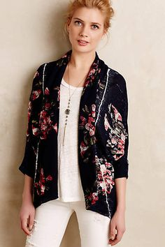 Blooming Dolman Cardigan - A gorgeous outfit topper and perfect for transitioning into fall