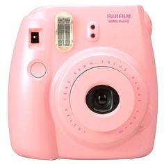 Fujifilm Instax Mini 8 Camera Pink ($70) ❤ liked on Polyvore featuring accessories, camera, fillers, electronics and extras