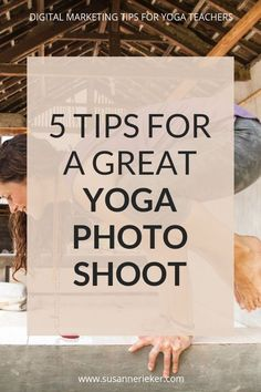 5 Tips for a great yoga photo shoot 5 Tips for a great yoga photo shoot Susanne Rieker Marketing for Yoga Teachers susanne rieker MARKETING FOR YOGA TEACHERS nbsp hellip Yoga Photos, Yoga Pictures, Qi Gong, Tai Chi, Photo Shoot Tips, Citations Yoga, Marketing, Yoga School, Yoga Photography