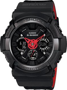 Mens G-Shock x Supra 30th Anniversary Collaboration Watch // GA-200SPR-1AJR // Free Shipping to Australia