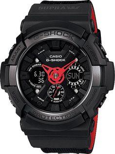 Mens G-Shock x Supra 30th Anniversary Collaboration Watch // GA-200SPR-1AJR // Free Shipping to Australia