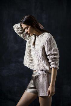 LeBrand www.hushwarsaw.com  #hushwarsaw #hushwrsw #polish #fashion #brand #lebrand #silver #gold #elegant #party #look #wool