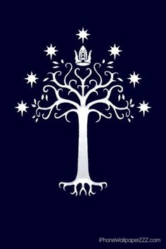 The tattoo that I'm currently saving up for. White Tree of Gondor :]
