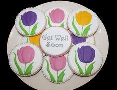 Get Well Flowers www.thehungryhippopotamus.com