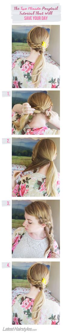 The Two Minute Ponytail Tutorial