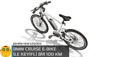 Şehrin yeni gözdesi BMW Cruise e-Bike
