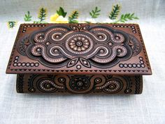 Jewelry Box Wooden Box Ring Box Carved Wood Box Wedding Gift Wooden Boxes…