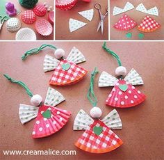 christmas crafts for kids Preschool Christmas, Christmas Activities, Christmas Crafts For Kids, Christmas Angels, Christmas Projects, Holiday Crafts, Christmas Holidays, Christmas Gifts, Christmas Decorations
