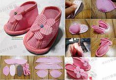 DIY Cute Baby Shoes | DIY & Crafts Tutorials