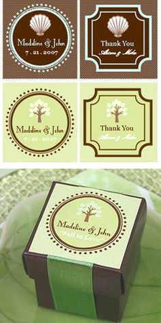 Theme Personalized Labels & Tags