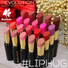 MAKEUP REVOLUTION: Barras de labios #LipHug