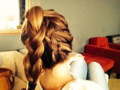 Turn your braid upside down