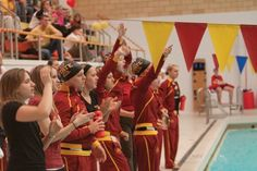 IOWA STATE SWIM TEAM!