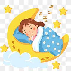 Good Night World, Cute Good Night, Girl Sleeping, Girl Clipart, Nighty Night, Child Day, Kids Sleep, Clipart Images, Girl Cartoon