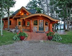 hobbit log cabin
