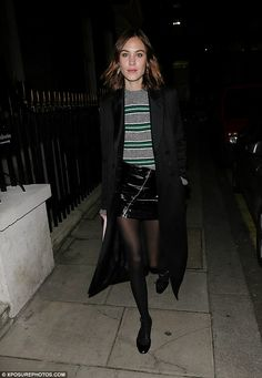 Take your style to the max with a coat like Alexa's #DailyMail  Click 'Visit' to buy now