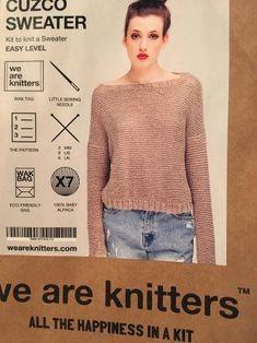 """Le pull """"Cuzco Sweater"""" de la marque we are knitters"""
