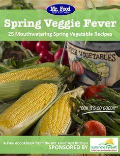 Spring Veggie Fever: 25 Mouthwatering Spring Vegetable Recipes Free eCookbook