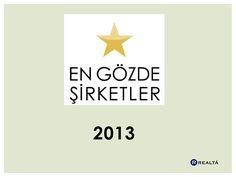 En Gözde Şirketler 2013 Slideshare