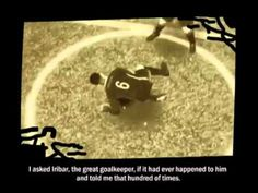 The Goalkeeper and the Void by Marta Azparren is a Jury winning film at the 2011 Machinima Expo. It was shot in FIFA Soccer 2009 and features the words of sculptor Eduardo Chillida.
