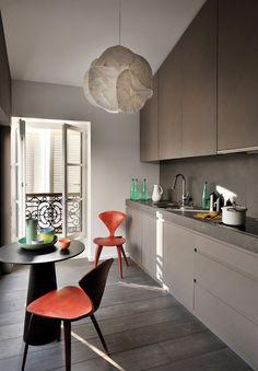 HappyModern.RU | 50 Идей дизайна маленькой кухни от 5 кв. м: как грамотно использовать каждый сантиметр площади | http://happymodern.ru