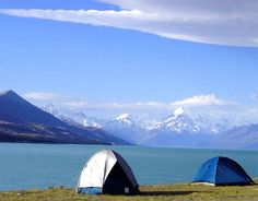 NEW ZEALAND: Rent a campervan, drive around the country, and see all that New Zealand has to offer, from craggy mountains to kayaking and beautiful blue skies.