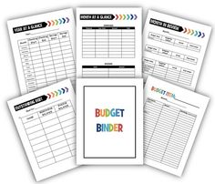 Budget Binder $4.  Track all of your family's finances in the easy-to-use 6 page planner. Purchase once, print as many times as you'd like.