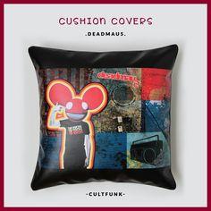 "😎 EDM L💛VERS ahoy! 😎 . Rs. 1,295/- size [18""×18""] . #cultfunk #cushioncover . 💛 www.cultfunk.com 💛 . #deadmau5 #hotselling #edm #edmlifestyle #edmlove #edmfamilly #djs #dj #musica #boombox #stylishhomes #homedecor #home #decor #cushion #cushioncovers #style #styleblogger #funky #furnishings #instamusic #picoftheday #instagood #love #shoppingonline #vegan #brand #giftideas"