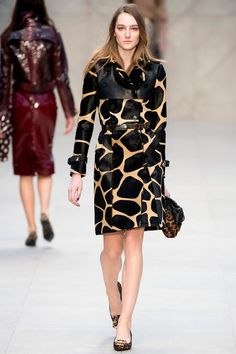 Burberry Prorsum Fall 2013 Ready-to-Wear Collection Slideshow on Style.com