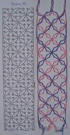 motif13-3 Crochet Needles, Crochet Stitches, Irish Crochet, Diy Crochet, Pin Weaving, Bobbin Lacemaking, Bobbin Lace Patterns, Parchment Craft, Lace Jewelry