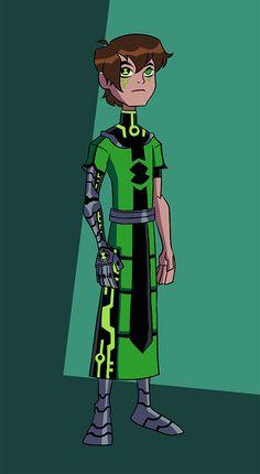 Omnitrix Ben aka No Watch Ben by CheshireP on DeviantArt