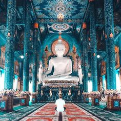 Blue Temple - Thailand