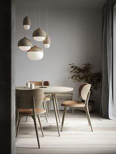 Vienne Drop Leaf ensemble salle à manger Moyenne Chêne//marron en simili cuir
