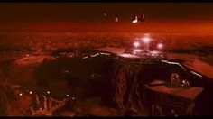 Total Recall of stared by Schwarzenegger, is being considered the best Mars movie ever, at least till The Martian will hit theaters. Here are some of the best HD images from Total Recall focusing on the Martian landscapes and human colony in the movie. Mars Movies, 1990 Movies, Sci Fi Movies, Secret Space Program, Total Recall, Sci Fi Tv, Aliens And Ufos, Arnold Schwarzenegger, Maleficent