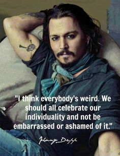 Oh...Johnny Depp!! FAB #Quotes