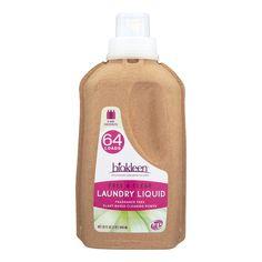 Biokleen Laundry Liquid - Free And Clear - Bio - 32 Oz - Case Of 6  #love #organic #inspiredbeacon  #WheatFree #Household #Vegan #Laundry