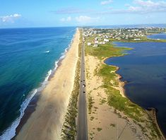 America's Most Scenic Waterside Drives: Outer Banks Scenic Byway, North Carolina l travelandleisure.com, Spring 2014
