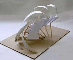 Concept Models Architecture, Paper Architecture, Pavilion Architecture, Interior Architecture, Installation Architecture, 3d Design, Design Model, Planer Layout, Cardboard Sculpture