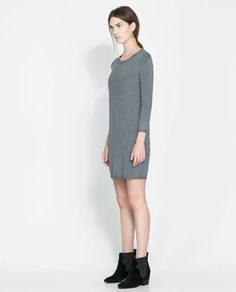 Image 1 of ZIP-BACK DRESS from Zara